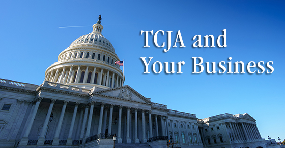 TCJA and Your Business