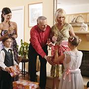 family gift giving