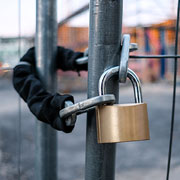 padlock - construction and real estate